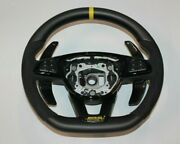 Mb Edition 1 Style W205 C Class Yellow Steering Wheel Matte Carbon