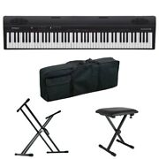 S22578 Roland Go-88 Go Piano88 Entry Keyboard Piano 88 X-type Stand Bench With