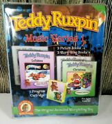 Teddy Ruxpin Music Series 1 Christmas And Lullabies Books Missing Cartridge
