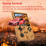 Anbernic Rg351v 128gb Retro Game Console Handheld Video Game Player Device Gift