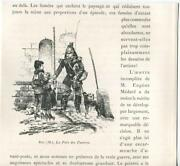 Antique Soldier Man Giving Tithing Tithe To The Poor Children Dog M. Roy Print