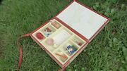Rare Antique Ussr Russian Soviet Dolland039s Doctor Toy Set Case About 1970