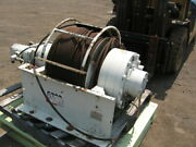 For Sale Dp Hydraulic Winch 63,000 Lb. Capacity