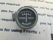 Antique 20and039s 30and039s Amperes Gauge 2 Vintage 20-20 Discharge Charge Vintage Ford