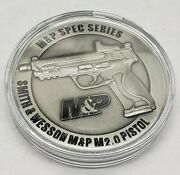 Sandw Mandp M2.0 2021 Spec Series Challenge Coin 2.0 Collectors Smith And Wesson New