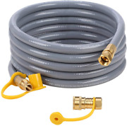 Gasland Flexible Propane Gas Line 12 Feet Natural Grill Hose With 3/8 Male Csa