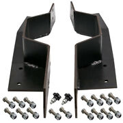 Bolt-in C Notch Kit Rear Bed Frame For Chevy C10 63-72 And Gmc C1500 Pickup