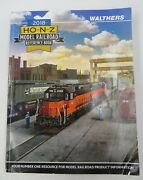 Walthers 2018 Ho, N, And Z Model Railroad Reference Book
