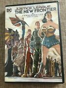 New Dc Justice League The New Frontier Dvd Commemorative Edition Movie