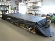 Suntracker 31695-14 Party Barge 27 Outboard Pontoon Cover 2009 Black Boat