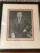Walter Johnson Signed Autograph News Cover