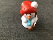 Fisher Price Little People Advent Calendar Snowman Christmas Toy Gift