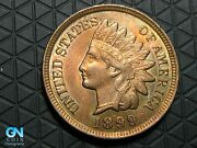 1899 Indian Head Cent Penny -- Make Us An Offer K6296
