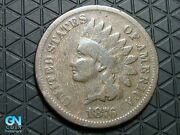 1876 Indian Head Cent Penny -- Make Us An Offer K6299