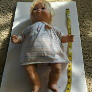 Vintage Fisher-price Toys My Baby Beth Doll 1977 Blond Hair Blue Eyes 17