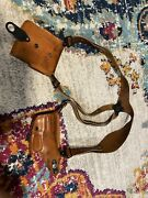 Galco Shoulder Holster 198 Double Mag Holder A1410 - Smith And Wesson Model 59