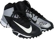 Tim Tebow Ny Jets Signed Player-issued Black Shoes - 2012 Season - Aa0051769-70