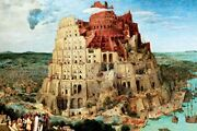 1000 Piece Jigsaw Puzzle Master Of Puzzle The Tower Of Babel 50x75cm