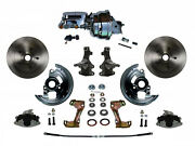 Leed Brakes Fc1003-n605 A/f And X-body Power Brake Conversion Kit 2in Drop