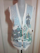 Marisa Christina S Christmas Sweater Vest The Christmas Collection 1995 Exc