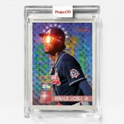 Topps Project 70 Card 417 1996 Ronald Acuna Jr. By Solefly Presale 417