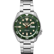 Seiko 5 Sports Green Menand039s Automatic Watch Green Dial Srpd63