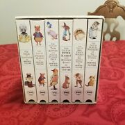 6 Vhs Lot Beatrix Potter The World Of Peter Rabbit And Friends Collectors Series
