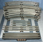 Lot Of 17 Lionel O Gauge Track, 14 10 Curved, 2 Straight, 1 Rcs-2 Track
