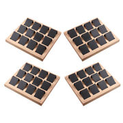 48pcs Paper Earring Holder Cards Jewelry Organizer Tags W/ Tray Handmade