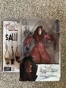 Jigsaw Killer Figure Saw Iii With Billy The Puppet And Tricycle Nib Cult Classics