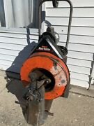 General Wire Maxi-rooter Drain Sewer Cleaning Machine W/ Cable Good Working