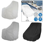 Durable Boat Seat Cover Foldable Dustproof Uv-resistant Helm Chair Cover
