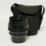 Helios 40-2 85mm F1.5 Round And Bokeh Russian Cannon Ef Mount Large Aperture