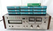 Working Pioneer Rh 65 8 Track Player Recorder And Capitol Tapes
