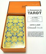 Hermes Tarot Cards With Manual Authentic Deck Of Playing Cards Sun Designed Rare