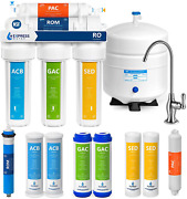 Express Water Ro5dx Reverse Osmosis Filtration Nsf Certified 5 Stage Ro System W