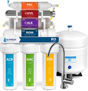 Express Water Uv Reverse Osmosis Water Filtration System Andndash 11 Stage Uv Water Fil