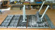 Shopsmith 510 Main Table Assembly + Extension + 2 Floating + 4 Connecting Tubes