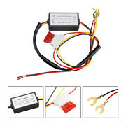 Led Daytime Running Light Controller Auto Relay Harness Dimmer Car Accessori Cl
