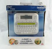 Brother P-touch Ptd-210 One-touch Keys Multiple Font Compact Label Maker