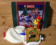 Fisher Price Little People Christmas Tree Lighting In Discovery Pk - 3 Pieces