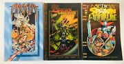 Lot Of 3 Spawn Graphic Novels /tpb's Anglea, Godslayer , Medieval Image 1995 Oop