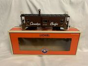 ✅lionel Canadian Pacific Smoking Bay Window Caboose 6-17696 For Diesel Engine