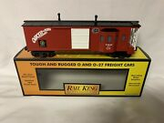 ✅mth Railking New York Central Peoria Eastern Lighted Work Caboose 30-7761 Nyc