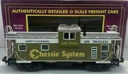✅mth Premier Chessie Extended Vision Caboose 20-90012 For Diesel Engine Lighted