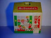 Vintage 1960s Mcdonalds Family Meal Take-out Box/big Doll House Unpunched Scarce
