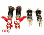 Function And Form Type 1 Adjustable Coilovers 2001 - 2005 Honda Civic Ep3
