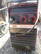 Lincoln Wire Matic 225 Welder Wire Spool And Gun And Tank Wire Feeder Welder Lincoln