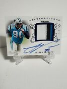 2019 Flawless Julius Peppers Distinguished 3 Color Patch Autograph 1/5 Ebay 1/1