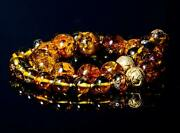 A Necklace Of Mexican Chiapas Amber Amb01